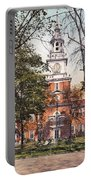 Independence Hall 1900 Portable Battery Charger