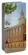 Independence Hall Philadelphia  Portable Battery Charger