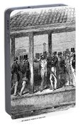 India Train Station, 1854 Portable Battery Charger