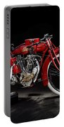 Indian 8-valve Racer Portable Battery Charger