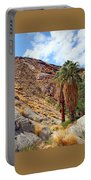 Indian Canyons View With Two Palms Portable Battery Charger