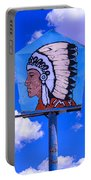 Indian Chief Sign Portable Battery Charger