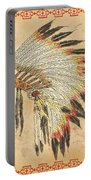 Indian Head Dress-a Portable Battery Charger