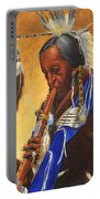 Indian Playing Flute Portable Battery Charger
