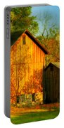 Indian Summer In October Portable Battery Charger