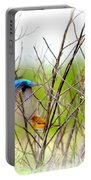 Indigo Bunting - 4 Portable Battery Charger