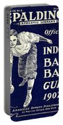 Indoor Base Ball Guide 1907 Portable Battery Charger by American Sports Publishing
