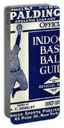 Indoor Base Ball Guide 1907 II Portable Battery Charger by American Sports Publishing