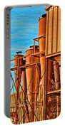 Industrial Detail Photoart Portable Battery Charger