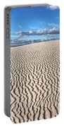 Infinite Sand Patterns Portable Battery Charger
