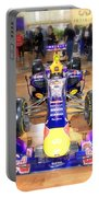 Infiniti Red Bull Formula One Racing Car  Portable Battery Charger