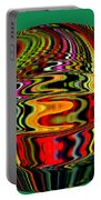 Infinity Jar 3 Rainbow Swirl Portable Battery Charger
