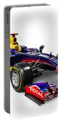 Infinity Red Bull Rb9 Formula 1 Race Car Portable Battery Charger