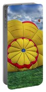 Inflating The Hot Air Balloon Portable Battery Charger