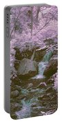 Infrared Mountain Stream Portable Battery Charger