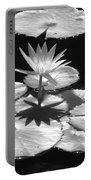 Infrared - Water Lily 02 Portable Battery Charger