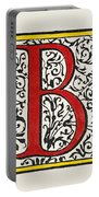 Initial 'b', C1600 Portable Battery Charger
