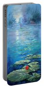 Inniswood Park Waterlilies Portable Battery Charger