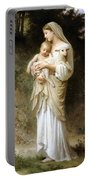 Innocence Portable Battery Charger by William Bouguereau