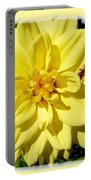 Insect On A Dahlia Portable Battery Charger