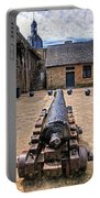 Inside A French Fort Portable Battery Charger