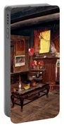 Inside Tibetan House Portable Battery Charger