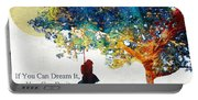 Inspirational Art - You Can Do It - Sharon Cummings Portable Battery Charger
