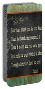 Inspirational Chalkboard-d2 Portable Battery Charger