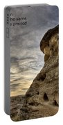 Inspirational Hoodoo Badlands Alberta Canada Portable Battery Charger