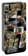 Interior Russian Submarine Horz Collage Portable Battery Charger