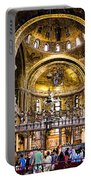Interior St Marks Basilica Venice Portable Battery Charger
