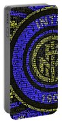 Internazionale Typography Poster Portable Battery Charger