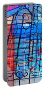 Interstate 10- Exit 255- Miracle Mile Overpass- Rectangle Remix Portable Battery Charger