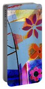 Interstate 10- Exit 256- Grant Rd Underpass- Rectangle Remix Portable Battery Charger