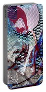 Interstate 10- Exit 261- 6th Ave Overpass- Rectangle Remix Portable Battery Charger