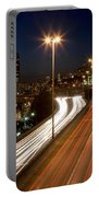 Interstate Traffic In Seattle Washington Portable Battery Charger