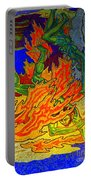Into The Flames Of Hell Portable Battery Charger