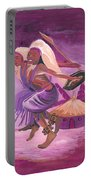 Intore Dance From Rwanda Portable Battery Charger