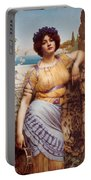 Ionian Dancking Girl Portable Battery Charger
