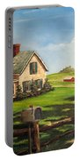 Cherokee Iowa Farm House Portable Battery Charger