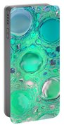 Iphone Case - Aqua Glassy Buttons Portable Battery Charger