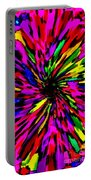 Iphone Cases Colorful Floral Abstract Designs Cell And Mobile Phone Covers Carole Spandau Art 159 Portable Battery Charger