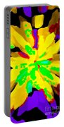 Iphone Cases Colorful Flowers Abstract Roses Gardenias Tiger Lily Florals Carole Spandau Cbs Art 182 Portable Battery Charger