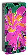 Iphone Cases Colorful Flowers Abstract Roses Gardenias Tiger Lily Florals Carole Spandau Cbs Art 183 Portable Battery Charger