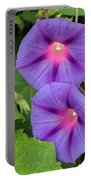 Ipomea Acuminata Morning Glory Portable Battery Charger