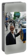 Iran Street Of Mashad Portable Battery Charger