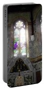 Ireland St. Brendan's Cathedral Stained Glass Portable Battery Charger
