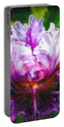 Iridescent Iris Portable Battery Charger