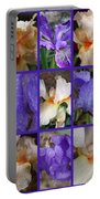 Iris Collage Portable Battery Charger