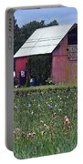 Iris Field And Barn Portable Battery Charger